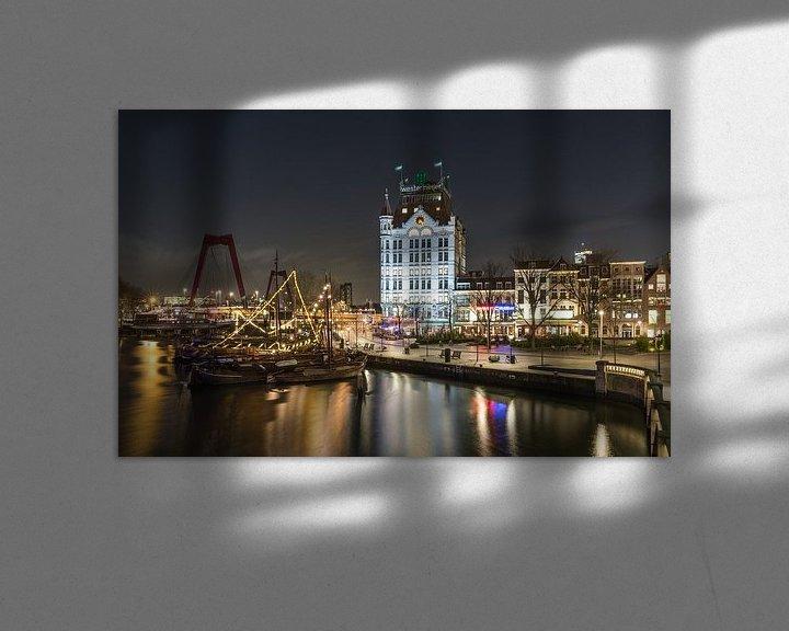 Sfeerimpressie: De Oudehaven en het Witte Huis in Rotterdam van MS Fotografie   Marc van der Stelt