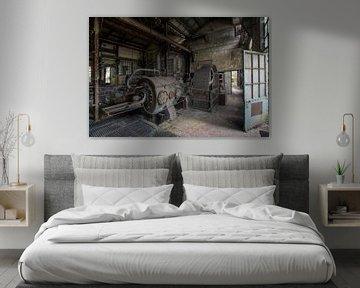 Compressor room van Truus Nijland