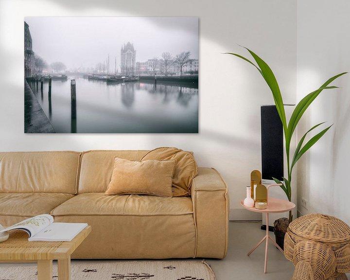 Sfeerimpressie: De oude Haven Rotterdam van Rob van der Teen