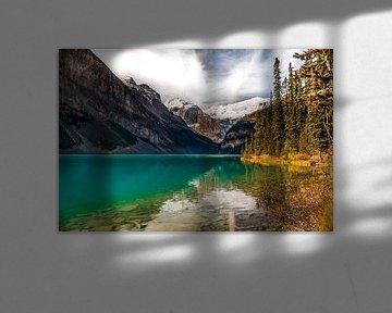 Lake Louise, Banff National Park, Alberta, Canada van M. Cornu