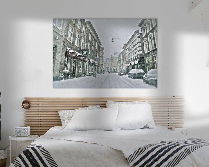 Sfeerimpressie: Winteropname Vughterstraat Den Bosch van Jasper van de Gein Photography