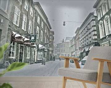 Winteropname Vughterstraat Den Bosch van Jasper van de Gein Photography