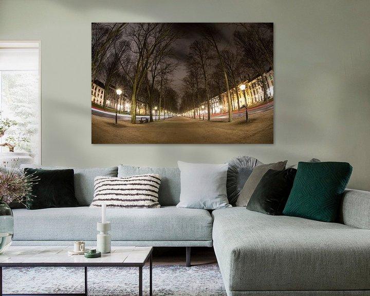 Sfeerimpressie: Lange Voorhout in Den Haag van Esther Seijmonsbergen
