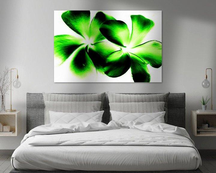 Sfeerimpressie: Green twins van Ernst van Voorst