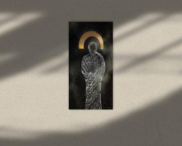 Schutzgeist - angel abstract, van Christine Nöhmeier