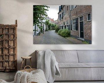 Straat in Amersfoort von Renate Coenen
