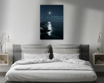 la Luna - Der Mond über der venezianischen Küste von Jasper van de Gein Photography