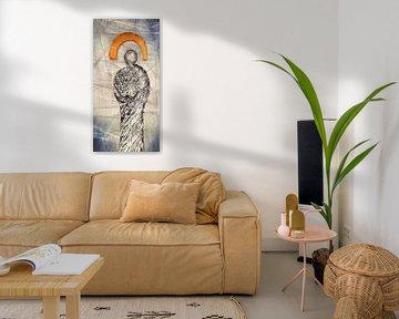 Guardian Angel - abstract angel van Christine Nöhmeier