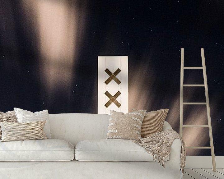 Sfeerimpressie behang: X X X, Amsterdam van Renzo Gerritsen