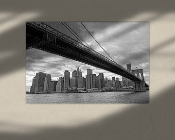 New York Brooklyn Bridge von Peter Pijlman