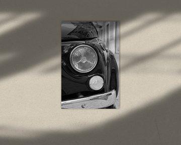 Fiat 500, Fiat Cinquecento, Italie, Oldtimer, Koplamp van Inge van Boekholt