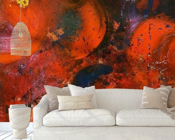 Beispiel fototapete: Orange impressions von Mo Oberbichler