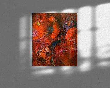 Orange impressions von Mo Oberbichler