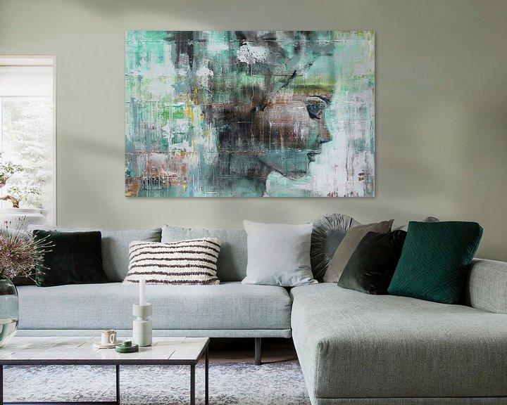 Sfeerimpressie: Angie green van Atelier Paint-Ing