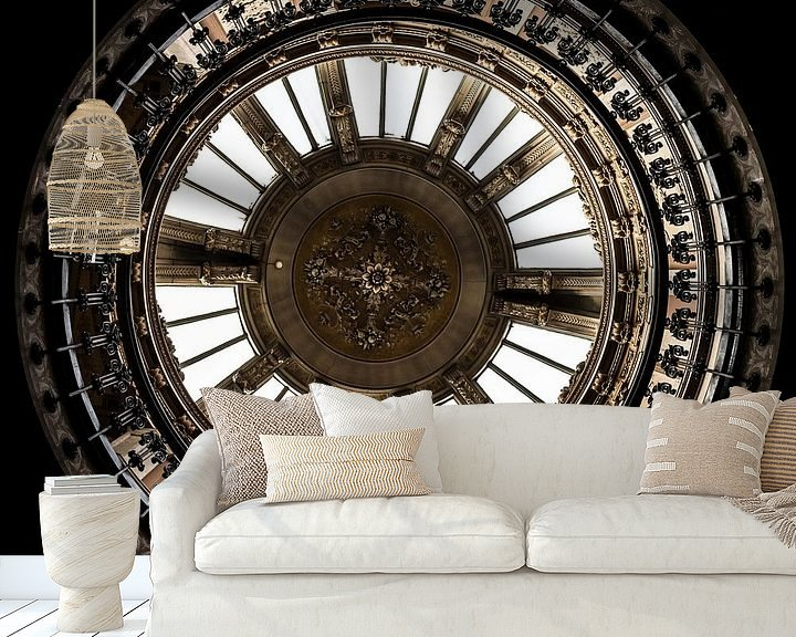 Sfeerimpressie behang: Full Circle van Scott McQuaide