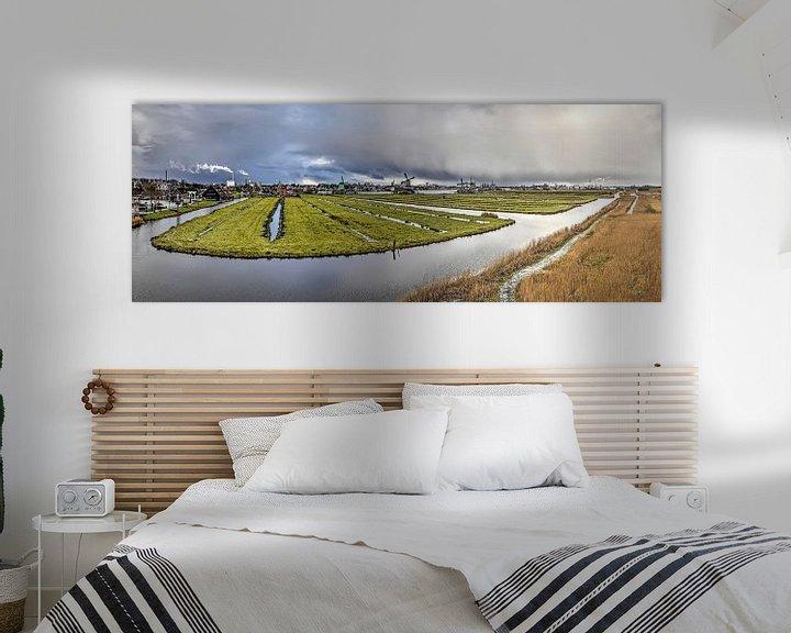 Sfeerimpressie: Panorama Zaanse Schans van Frans Blok