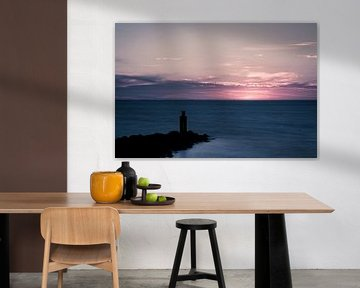 Pink Sunset.. I von Miranda van Hulst