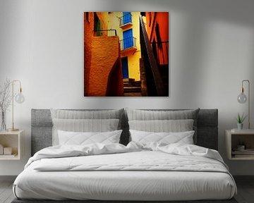 Colours of Collioure van Peter Bontan Fotografie