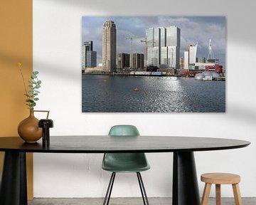 Wilhelminapier aan de Rijnhaven in Rotterdam sur Rick Keus