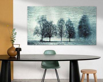 Park bomen  van Karin Stuurman