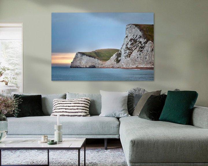 Sfeerimpressie: view from Durdle Door van Fotografie Egmond