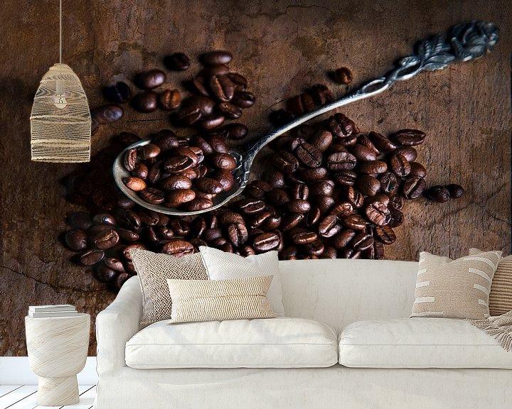 Sfeerimpressie behang: liefde voor koffie van Anouschka Hendriks