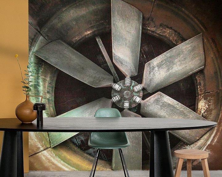 Sfeerimpressie behang: Ventilator/blower van Olivier Photography