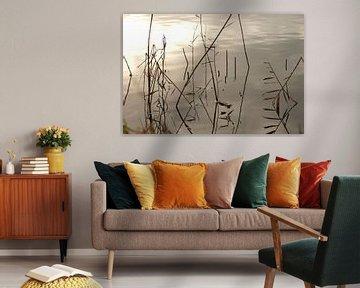 abstractie in het water von Ruth de Jong