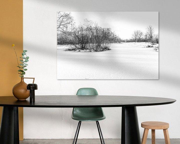 Sfeerimpressie: Winter Wonder Landschap van Ratna Bosch