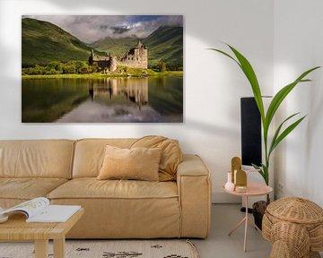 Kilchurn Burg Reflektion von Wojciech Kruczynski