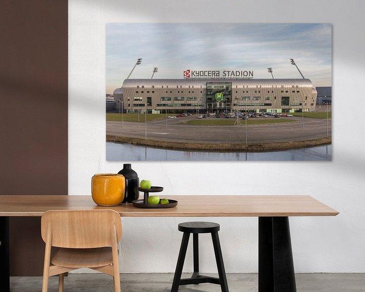 "Sfeerimpressie: ADO Den Haag ""Kyocera Stadion"" in Den Haag van MS Fotografie | Marc van der Stelt"
