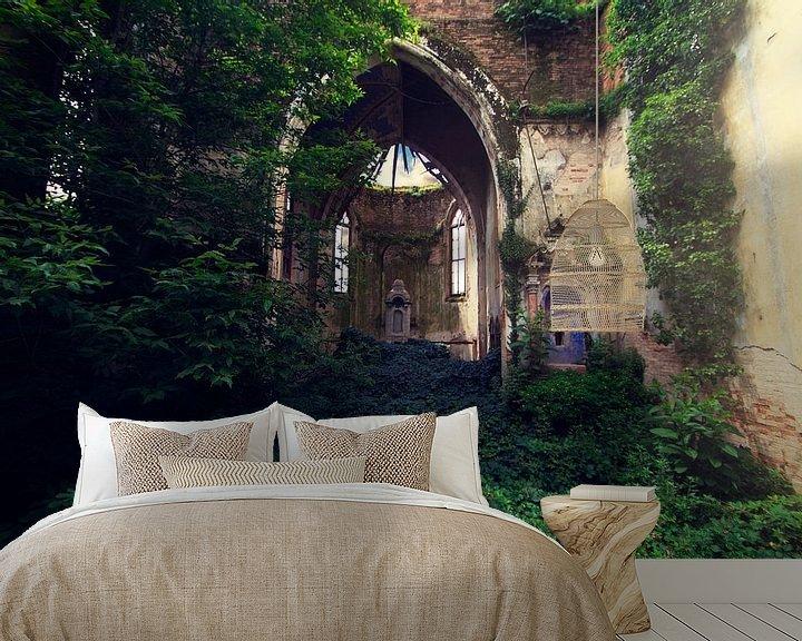 Sfeerimpressie behang: Nature takes over van Michelle Casteren