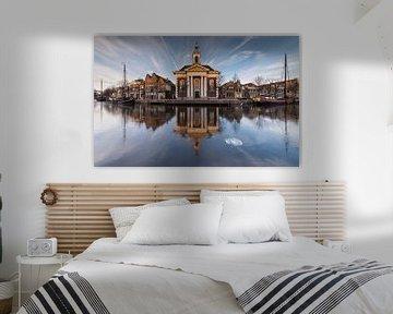 Havenkerk Schiedam van Jan Sluijter