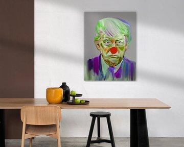 Welcome Mr. President Donald Trump Pop Art PUR von Felix von Altersheim
