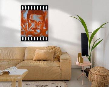 Freddie Mercury Pop Art PUR  von Felix von Altersheim