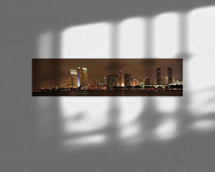Sfeerimpressie: Skyline San Diego van Leo Roest