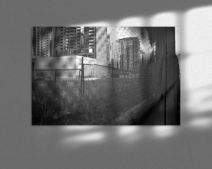 Sfeerimpressie: 'Hekwerk', Chicago van Martine Joanne