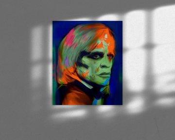 Klaus Kinski Pop Art PUR von Felix von Altersheim