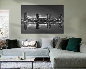 """Feyenoord Stadion """"De Kuip"""" Reflectie 2017 in Rotterdam van MS Fotografie   Marc van der Stelt"""