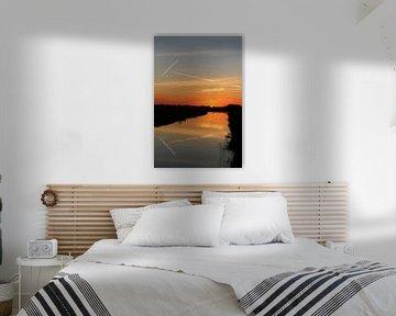 zonsondergang van Marcia Bergsma