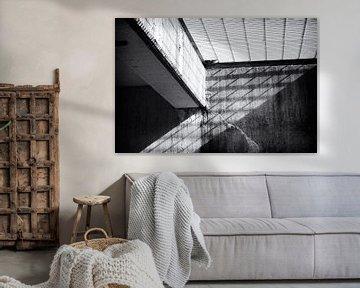 Schaduwspel in beton von Studio Zwartlicht