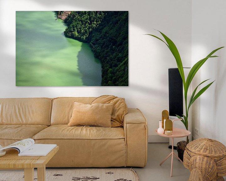 Impression: Grüne Lagune sur Jan Brons