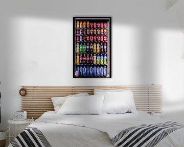 Kleuren - drankautomaat van Erik Bertels