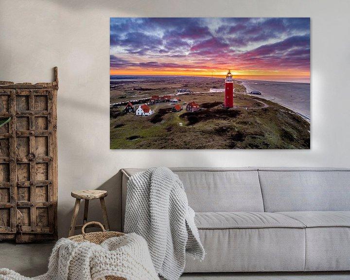 Sfeerimpressie: Vuurtoren Eierland Texel van Texel360Fotografie Richard Heerschap