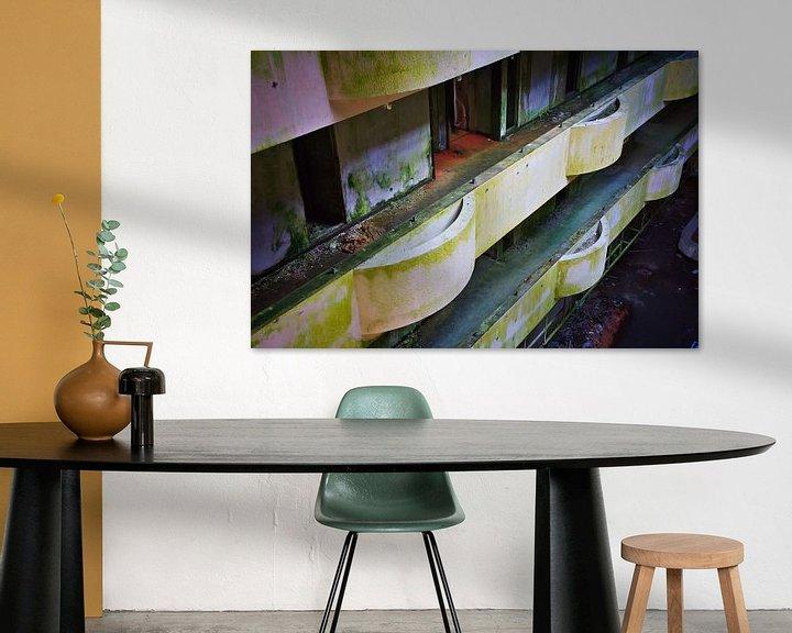 Impression: Balkon Zimmer verlassenen Hotel sur Jan Brons