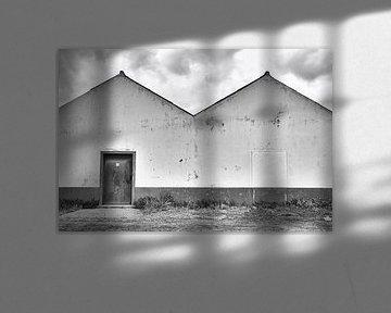 Oud pakhuis buitenkant