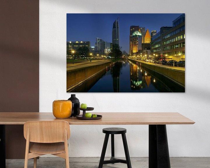 Sfeerimpressie: Den Haag: De andere skyline van Erik Brons