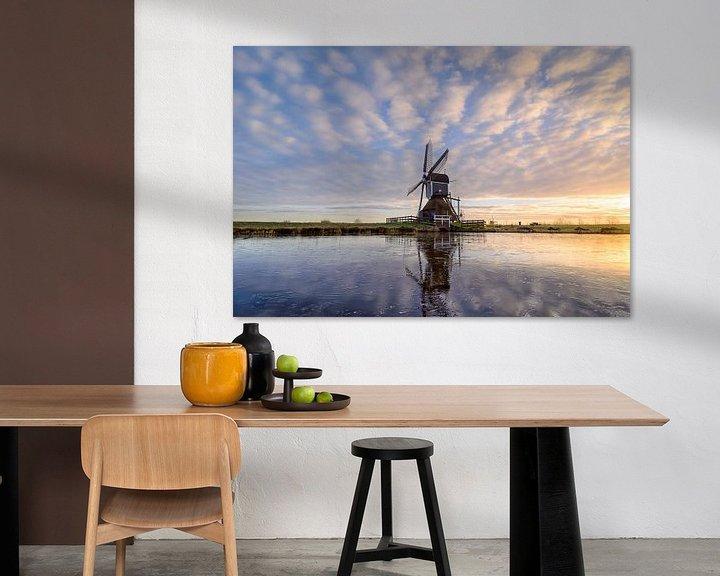 Sfeerimpressie: Windmill on Ice van Martijn van der Nat