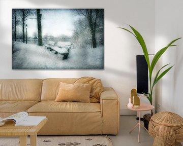 Take a Seat  in winter wonderland van Annie Snel