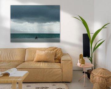 'Fietsen aan zee', Zanzibar van Martine Joanne